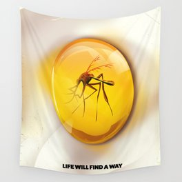 Life Will Find a way. Wall Tapestry