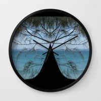sunglasses Wall Clocks featuring Sunglasses by iownthisurl