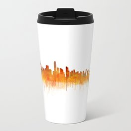 Vancouver Canada City Skyline Hq v02 Travel Mug