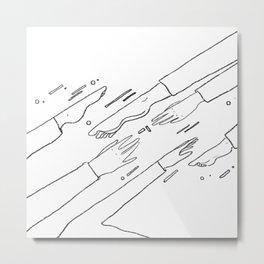 Reach Metal Print