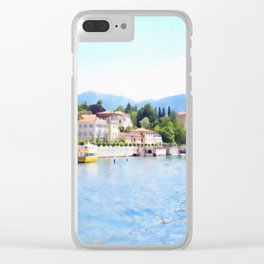 Living Spa Clear iPhone Case