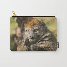 Alaotran Gentle Lemur Carry-All Pouch