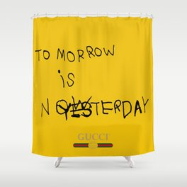 GUCCI TOMORROW IS NOW II Shower Curtain