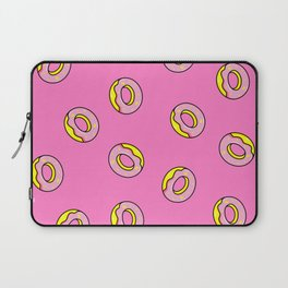 Donuts Pink Laptop Sleeve