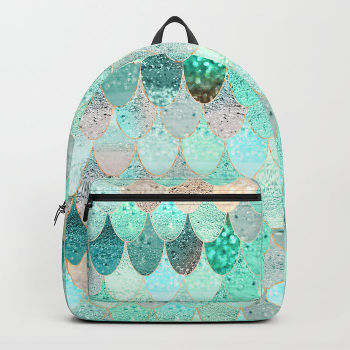 de348e658c80 SUMMER MERMAID Backpack by monikastrigel