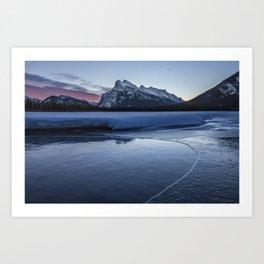 Vermilion Lakes Sunrise Art Print