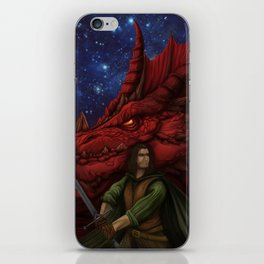 Drow cover iPhone Skin