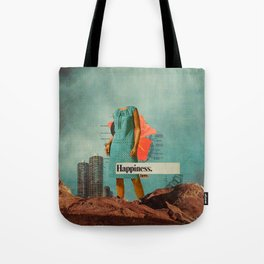 Happiness Here Tote Bag