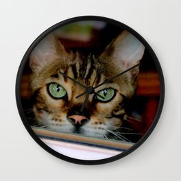 Just A Bit Nose-y Wall Clock
