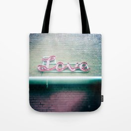 Sign of Love Tote Bag