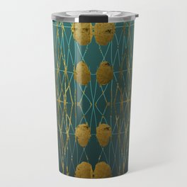 Kelp Forest Blue Travel Mug