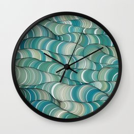 Wave Maker Wall Clock