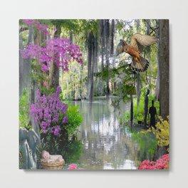 swamp garden Metal Print