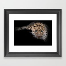 They call me puss Framed Art Print