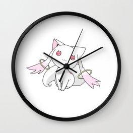 Kyubey Cat Wall Clock