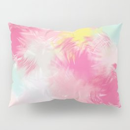 Blurred Blend - Pink Pillow Sham