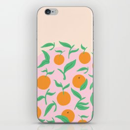 Orange Garden iPhone Skin