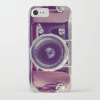 vintage camera iPhone & iPod Cases featuring Vintage Camera by Juste Pixx Photography