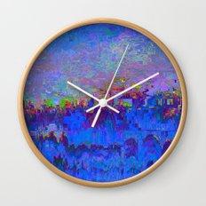 08-20-13 (Skyline Glitch) Wall Clock
