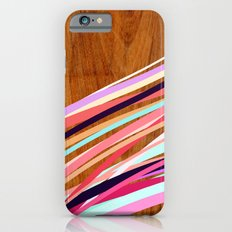 Wooden Waves Coral Slim Case iPhone 6