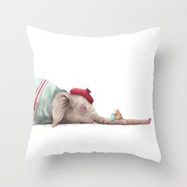 Sick Day Throw Pillow