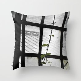 and i will climb Throw Pillow