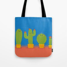 The littlest cactus Tote Bag