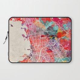 Berkeley map California painting 2 Laptop Sleeve