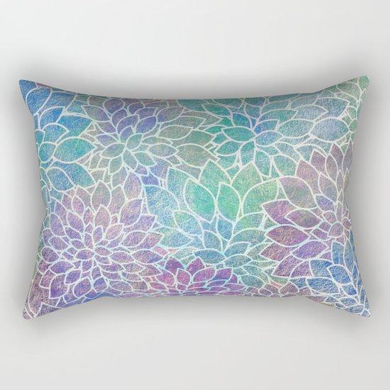 Floral Abstract 9 Rectangular Pillow