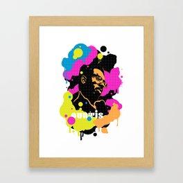 Soul Activism :: Curtis Mayfield Framed Art Print