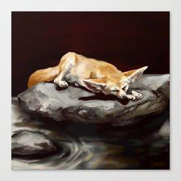 Sleeping ears Canvas Print
