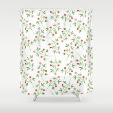 Blossoming branches Shower Curtain