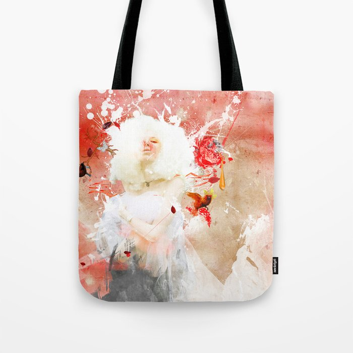 Moon at Noon Tote Bag