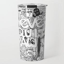 Doddle | Never Quit Drawing Travel Mug