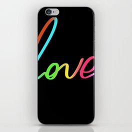 Love design iPhone Skin