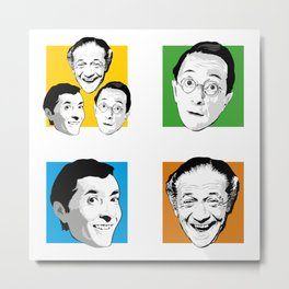 Carry On - Kenneth Williams, Sid James, Charles Hawtrey Metal Print