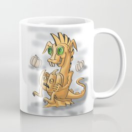 Pumpkin dagon by Dreaingsenga Coffee Mug