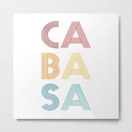 Cabasa  TShirt Music Shirt Instrument Gift Idea Metal Print