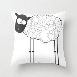 Meeee mee Throw Pillow