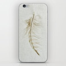 Owl Feather Photograph - Fleeting iPhone & iPod Skin