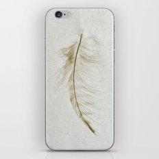 Owl Feather Photograph - Fleeting iPhone Skin
