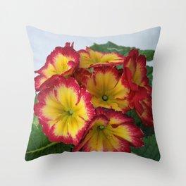 English Primrose 2 Throw Pillow