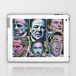Gangsters painting movie Goodfellas Godfather Casino Scarface Sopranos Laptop & iPad Skin