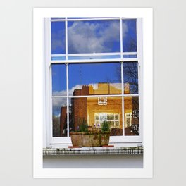 House in House In House Art Print