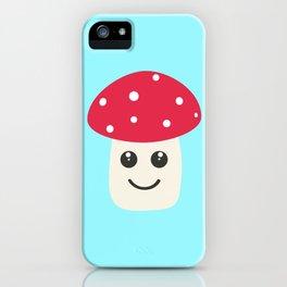 Cute red mushroom iPhone Case