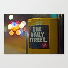 The Daily Bokeh Canvas Print