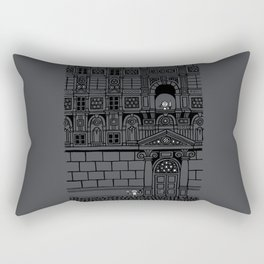 Romeo and Juliet's Penultimate Breath Rectangular Pillow