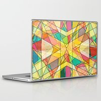 kaleidoscope Laptop & iPad Skins featuring Kaleidoscope by Tammy Kushnir