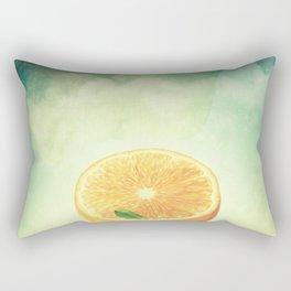The Orange Conspiracy Rectangular Pillow