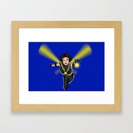 My version of Wasp (Janet Van Dyne) Framed Art Print